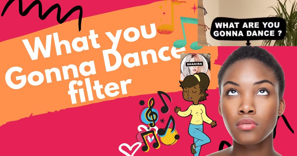 What Are You Gonna Dance Filter instagram tiktok